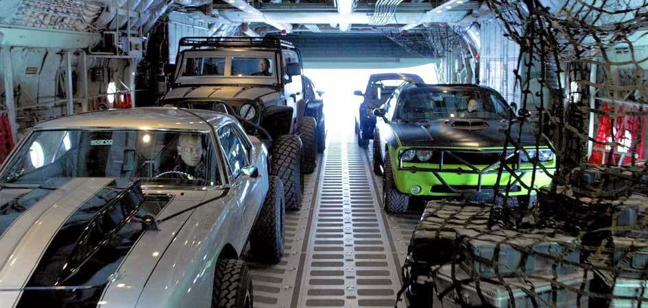 Furious 7 - C-130 Sequence
