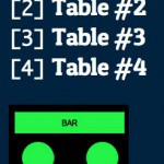 Choose a Table